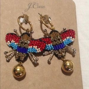 J crew Beaded earrings